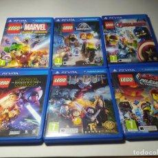 Videojogos e Consolas: LOTE 6 JUEGOS DE LEGO ( SONY PS VITA). Lote 200810887