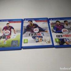 Videojuegos y Consolas PS Vita: LOTE 3 JUEGOS ( SONY PS VITA). Lote 200810982