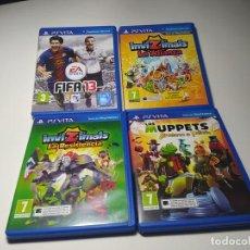 Videojuegos y Consolas PS Vita: LOTE 4 JUEGOS ( SONY PS VITA). Lote 200811037