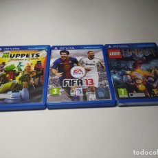 Videojuegos y Consolas PS Vita: LOTE 3 JUEGOS ( SONY PS VITA). Lote 200811097