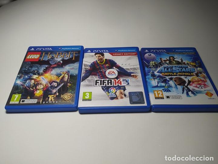 LOTE 3 JUEGOS ( SONY PS VITA) (Juguetes - Videojuegos y Consolas - Sony - PS Vita)