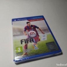 Jeux Vidéo et Consoles: FIFA 15 ( SONY PS VITA) PRECINTADO!. Lote 200811302