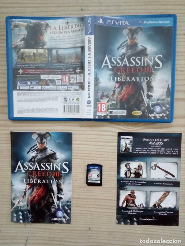JUEGO PS VITA - ASSASSIN'S CREED III LIBERATION (Juguetes - Videojuegos y Consolas - Sony - PS Vita)