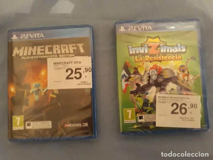 Videojuegos y Consolas PS Vita: juego psvita sin abrir PS Vita Minecraft y Invizimals - Foto 7 - 202778386