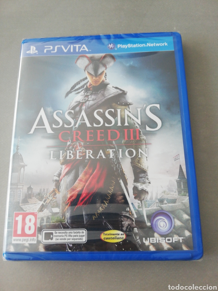 Videojuegos y Consolas PS Vita: Assassins Creed III Liberation PSVITA - NUEVO - Foto 1 - 202808096