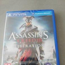 Videojuegos y Consolas PS Vita: ASSASSIN'S CREED III LIBERATION PSVITA - NUEVO. Lote 202808096