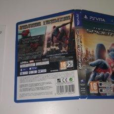 Videojuegos y Consolas PS Vita: SPIDER-MAN PSVITA SPIDERMAN PAL ESPAÑA SONY PS VITA MARVEL COMPLETO BUEN ESTADO. Lote 203076670