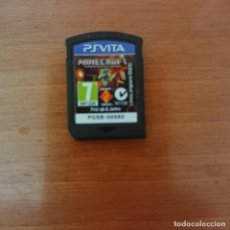 Jeux Vidéo et Consoles: MINECRAFT PS VITA CARTUCHO. Lote 206335903