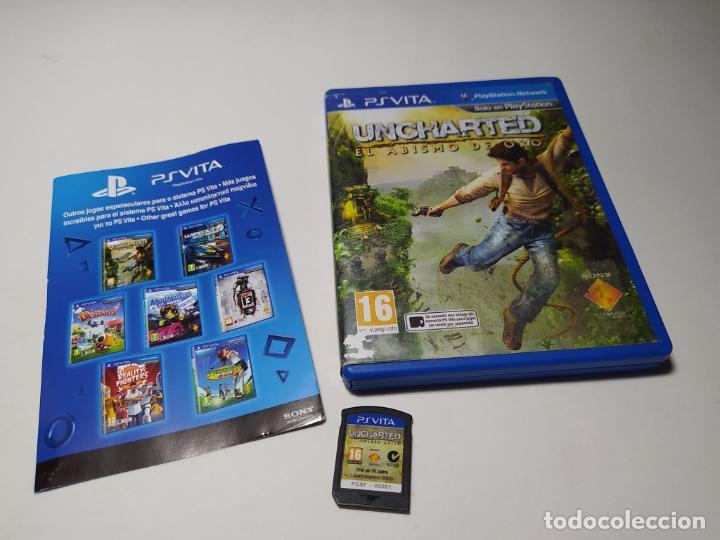 UNCHARTED : EL ABISMO DE ORO (PLAYSTATION VITA - PAL - ESP) (Juguetes - Videojuegos y Consolas - Sony - PS Vita)