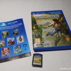 Videojuegos y Consolas PS Vita: UNCHARTED : EL ABISMO DE ORO (PLAYSTATION VITA - PAL - ESP). Lote 206371332