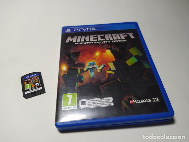 MINECRAFT : PLAYSTATION VITA EDITION (PLAYSTATION VITA - PAL - ESP) (Juguetes - Videojuegos y Consolas - Sony - PS Vita)