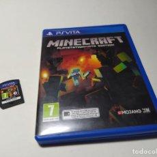 Videojuegos y Consolas PS Vita: MINECRAFT : PLAYSTATION VITA EDITION (PLAYSTATION VITA - PAL - ESP). Lote 206371430