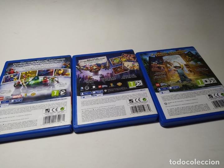 Videojuegos y Consolas PS Vita: Lote / Pack 3 Juegos Playstation Vita - Foto 2 - 206371575