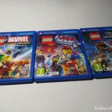 Videojuegos y Consolas PS Vita: LOTE / PACK 3 JUEGOS PLAYSTATION VITA. Lote 206371575