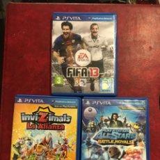 Videojuegos y Consolas PS Vita: 3 JUEGOS PSVITA DIFERENTES. Lote 206875171