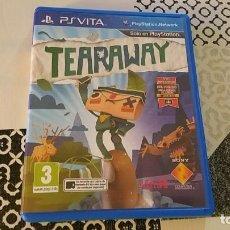 Videojuegos y Consolas PS Vita: TEARAWAY PS VITA PAL ESPAÑA. Lote 182161272