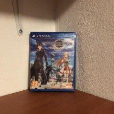 Videojuegos y Consolas PS Vita: SWORD ART ONLINE: HOLLOW REALIZATION SONY PLAYSTATION PS VITA PAL ESPANA NUEVO PRECINTADO. Lote 207966337