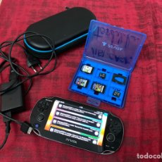 Videojuegos y Consolas PS Vita: CONSOLA SONY PS VITA CON JUEGOS - VER LAS IMÁGENES. Lote 210528628