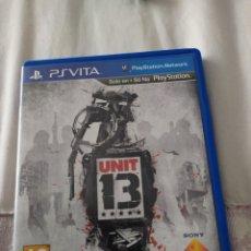 Videojuegos y Consolas PS Vita: UNIT 13 PS VITA. Lote 222138141