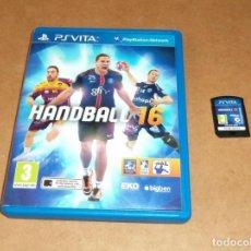 Jeux Vidéo et Consoles: HANDBALL 16 PARA SONY PSVITA / VITA , PAL. Lote 211822881