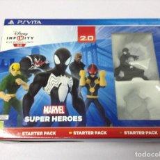 Videojuegos y Consolas PS Vita: DISNEY INFINITY 2.0 MARVEL SUPER HEROES STARTER PACK. Lote 212731878