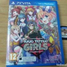 Videojuegos y Consolas PS Vita: TOKYO TATTOO GIRLS - PS VITA PSVITA - PAL ESPAÑA. Lote 216439965