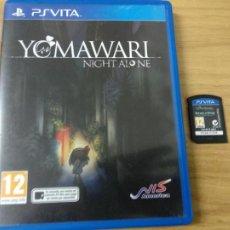Videojuegos y Consolas PS Vita: YOMAWARI NIGHT ALONE - PS VITA PSVITA - PAL ESPAÑA. Lote 216440165