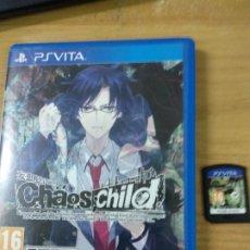 Videojuegos y Consolas PS Vita: CHAOS CHILD - PS VITA PSVITA - PAL ESPAÑA. Lote 216440405