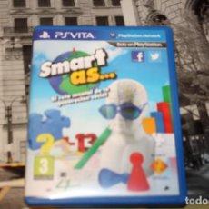 Videojuegos y Consolas PS Vita: ANTIGUO JUEGO PS VITA SMART. Lote 216805107
