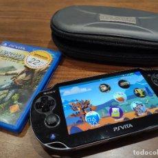 Jeux Vidéo et Consoles: PSVITA PLAYSTATION VITA CON FUNDA ORIGINAL, CARGADOR Y 2 JUEGOS. Lote 217605021