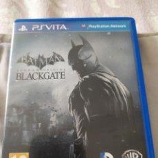 Videojuegos y Consolas PS Vita: BATMAN ARKHAM ORIGINS BLACKGATE PS VITA. Lote 218194965