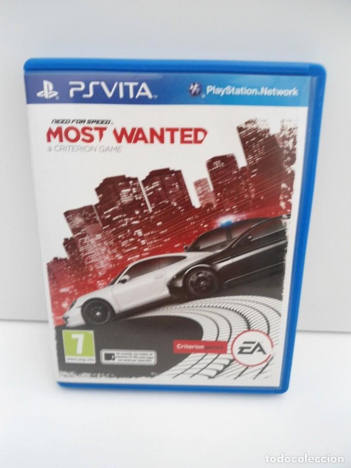 NEED OFR SPEED MOST WANTED - PS VITA PSVITA - EXCELENTE ESTADO (Juguetes - Videojuegos y Consolas - Sony - PS Vita)