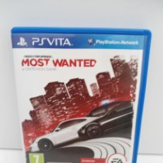 Videojuegos y Consolas PS Vita: NEED OFR SPEED MOST WANTED - PS VITA PSVITA - EXCELENTE ESTADO. Lote 219210786
