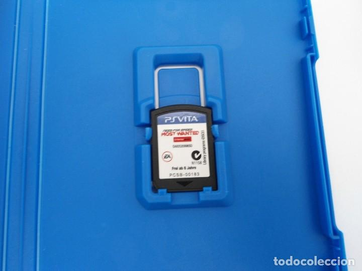 Videojuegos y Consolas PS Vita: NEED OFR SPEED MOST WANTED - PS VITA PSVITA - EXCELENTE ESTADO - Foto 3 - 219210786
