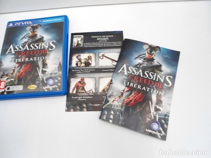 ASSASSIN´S CREED III LIBERATION - PS VITA PSVITA - EXCELENTE ESTADO (Juguetes - Videojuegos y Consolas - Sony - PS Vita)