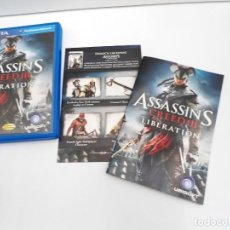 Videojuegos y Consolas PS Vita: ASSASSIN´S CREED III LIBERATION - PS VITA PSVITA - EXCELENTE ESTADO. Lote 219211075