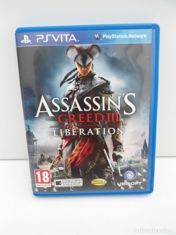 Videojuegos y Consolas PS Vita: ASSASSIN´S CREED III LIBERATION - PS VITA PSVITA - EXCELENTE ESTADO - Foto 2 - 219211075