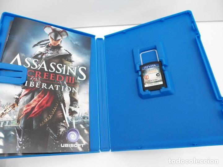 Videojuegos y Consolas PS Vita: ASSASSIN´S CREED III LIBERATION - PS VITA PSVITA - EXCELENTE ESTADO - Foto 3 - 219211075