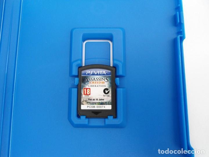 Videojuegos y Consolas PS Vita: ASSASSIN´S CREED III LIBERATION - PS VITA PSVITA - EXCELENTE ESTADO - Foto 4 - 219211075