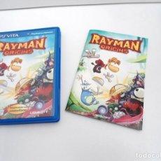Videojuegos y Consolas PS Vita: RAYMAN ORIGINS - PS VITA PSVITA - EXCELENTE ESTADO. Lote 219213292