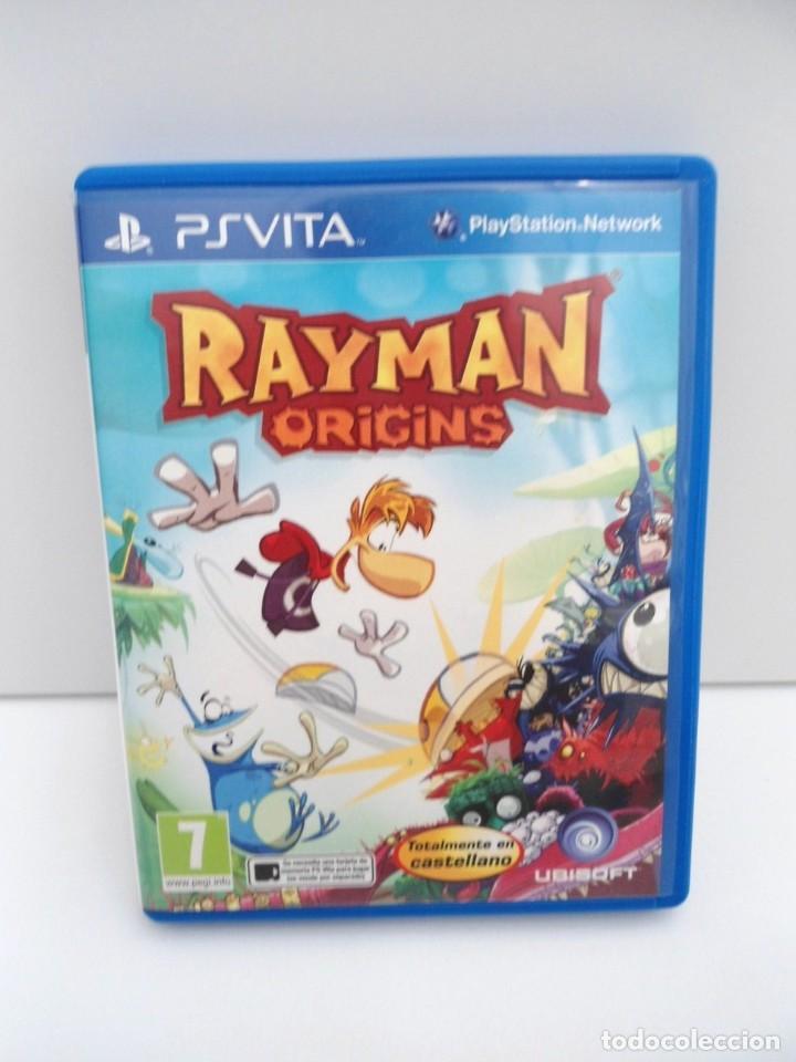 Videojuegos y Consolas PS Vita: RAYMAN ORIGINS - PS VITA PSVITA - EXCELENTE ESTADO - Foto 2 - 219213292