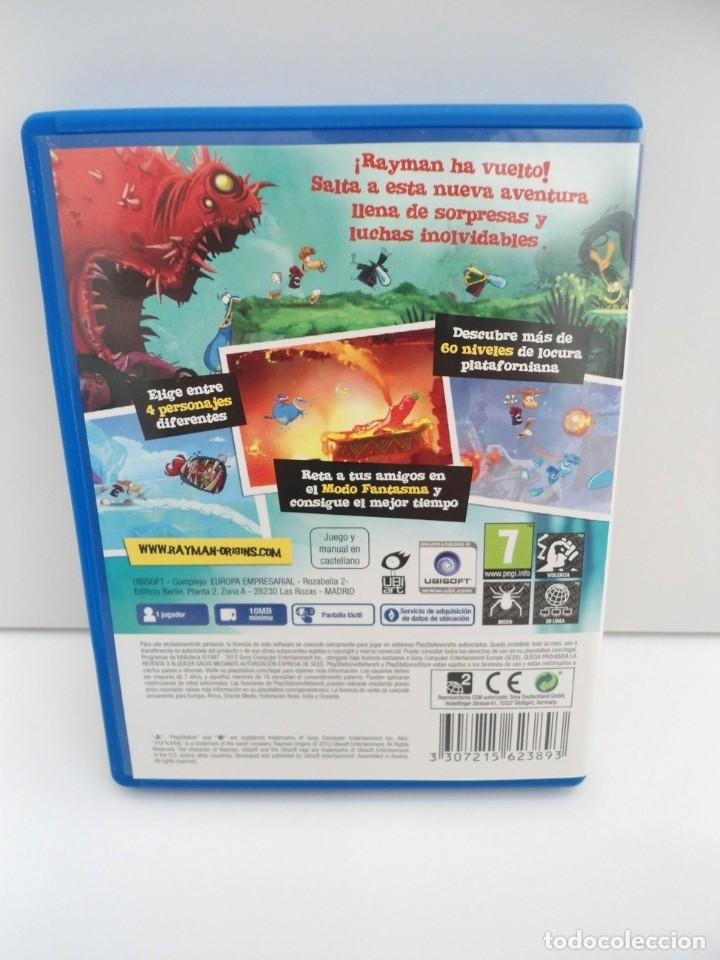 Videojuegos y Consolas PS Vita: RAYMAN ORIGINS - PS VITA PSVITA - EXCELENTE ESTADO - Foto 5 - 219213292