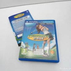 Videojuegos y Consolas PS Vita: EVERYBODY´S GOLF - PS VITA PSVITA - EXCELENTE ESTADO. Lote 219213808