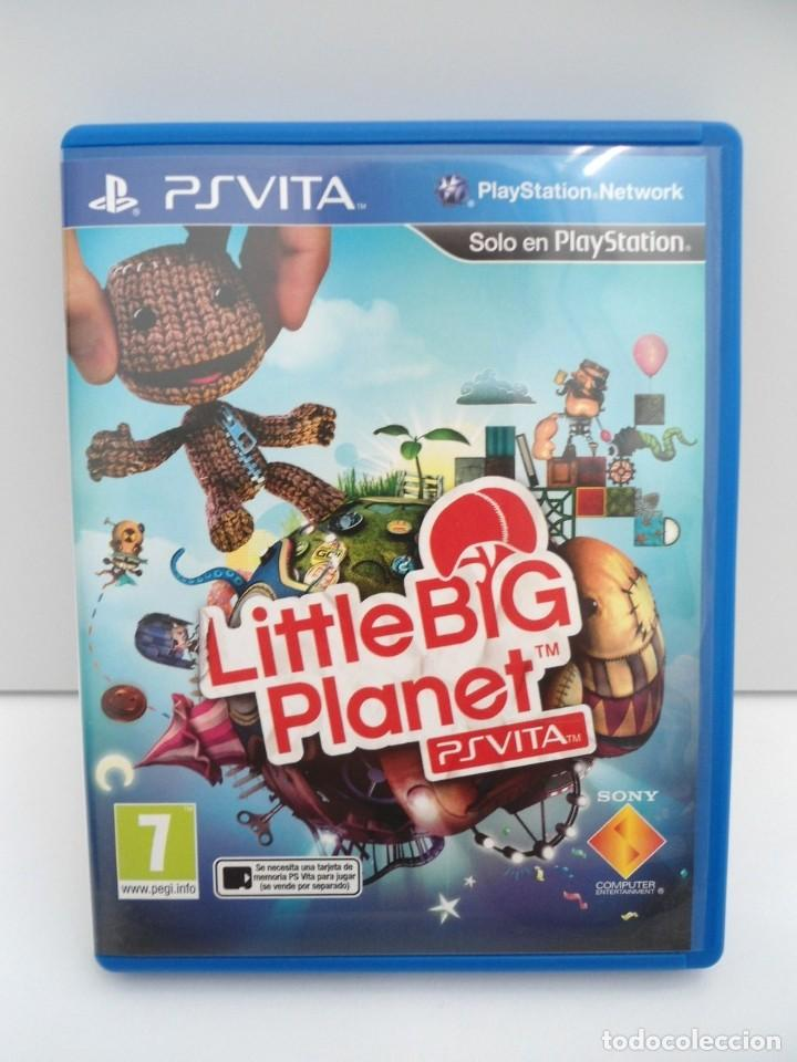 Videojuegos y Consolas PS Vita: LITTLE BIG PLANET - PS VITA PSVITA - EXCELENTE ESTADO - Foto 2 - 219215033
