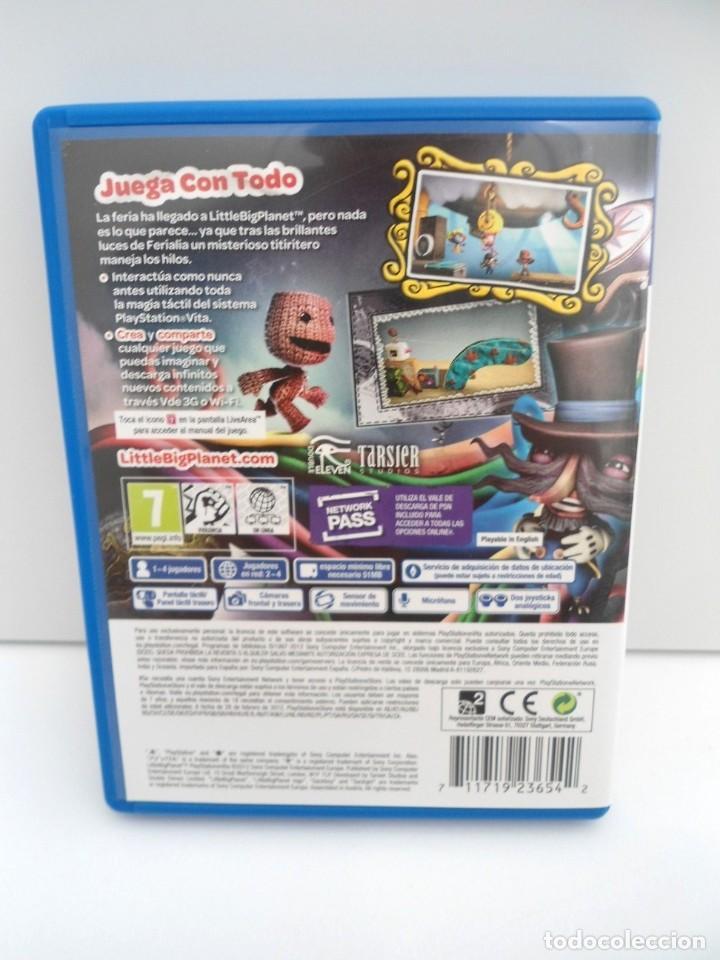 Videojuegos y Consolas PS Vita: LITTLE BIG PLANET - PS VITA PSVITA - EXCELENTE ESTADO - Foto 5 - 219215033