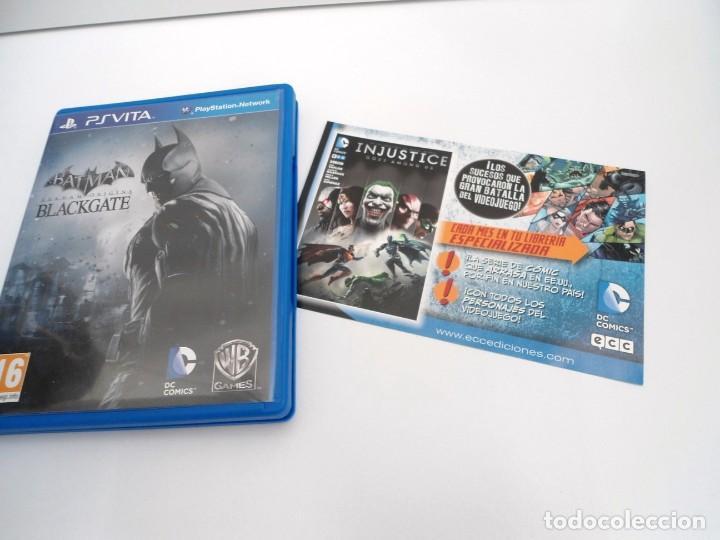 BATMAN ARKHAM ORIGINS BLACKGATE - PS VITA PSVITA - EXCELENTE ESTADO (Juguetes - Videojuegos y Consolas - Sony - PS Vita)