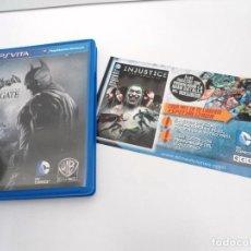 Videojuegos y Consolas PS Vita: BATMAN ARKHAM ORIGINS BLACKGATE - PS VITA PSVITA - EXCELENTE ESTADO. Lote 219215908