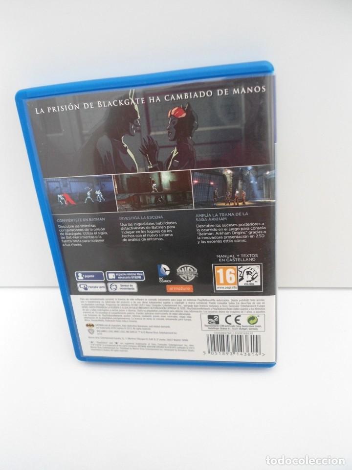 Videojuegos y Consolas PS Vita: BATMAN ARKHAM ORIGINS BLACKGATE - PS VITA PSVITA - EXCELENTE ESTADO - Foto 6 - 219215908