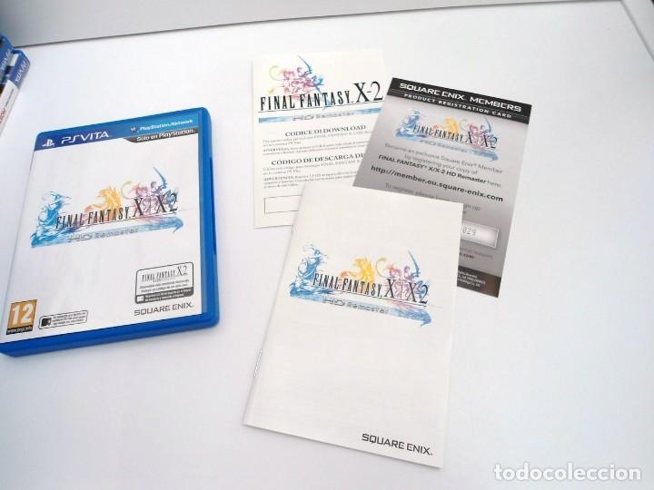 FINAL FANTASY X / X2 HD REMASTER - PS VITA PSVITA - EXCELENTE ESTADO (Juguetes - Videojuegos y Consolas - Sony - PS Vita)