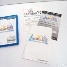 Videojuegos y Consolas PS Vita: FINAL FANTASY X / X2 HD REMASTER - PS VITA PSVITA - EXCELENTE ESTADO. Lote 219216703